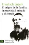 Engels_El origen de la familia, la propiedad privada y el estado