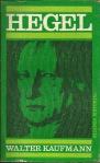111 Hegel, Walter Kaufmann, 1968